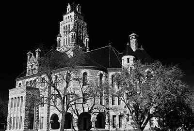 Photograph - Waxahachie Court House by John Babis