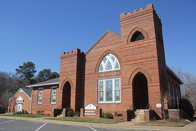 Photograph - Waxhaw United Methodist Church by Joseph C Hinson Photography