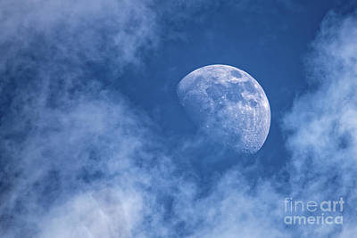 Photograph - Waxing Blue Moon by Paul Mashburn