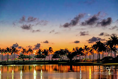 Photograph - Waxing Crescent by Jon Burch Photography