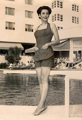 Nostalgia Photograph - Way Back Then At The Fontainebleau In Miami Beach by Matthew Bamberg