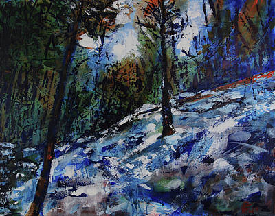 Painting - Way Of The Mono Trail by Walter Fahmy