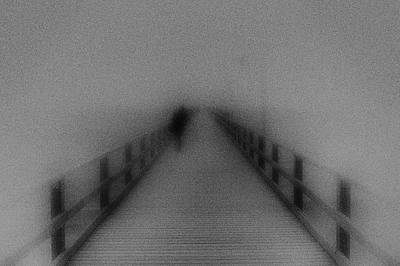 Black And White Photograph - Way To Infinity by Frank Andree