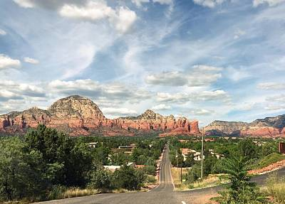 Photograph - Way To Sedona by Anne Sands