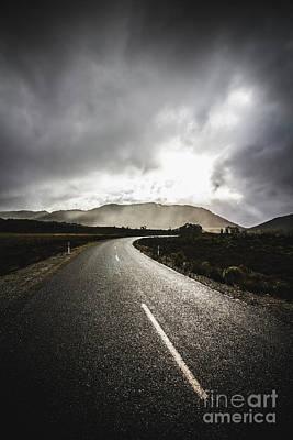 Travel Photograph - Way To Strathgordon by Jorgo Photography - Wall Art Gallery