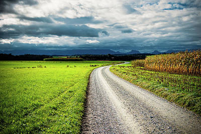 Photograph - Way To The Mountains by Holger Debek