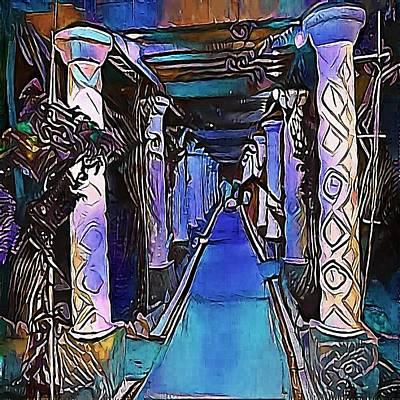 way - My WWW vikinek-art.com Art Print by Viktor Lebeda