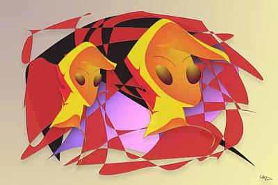 Digital Art - Way Wind by Warren Lynn