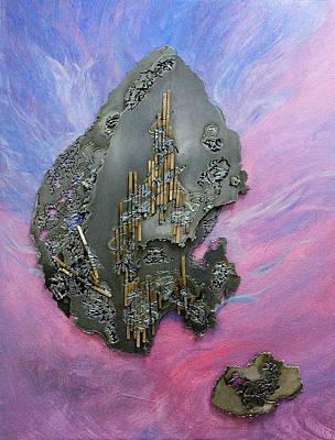 Plasma Cutter Mixed Media - Wayfarers Chapel Edge Of The Universe by Barbara McDonald