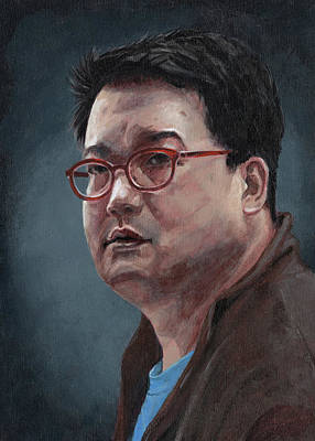 Asian Workers Painting - Wayne by Masha Batkova