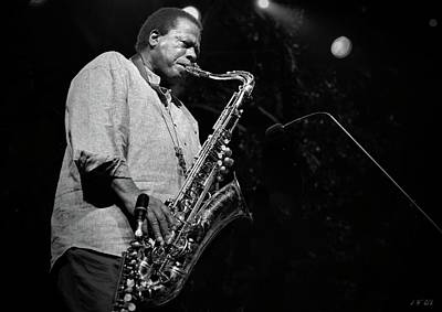 Photograph - Wayne Shorter Discography by Jean Francois Gil