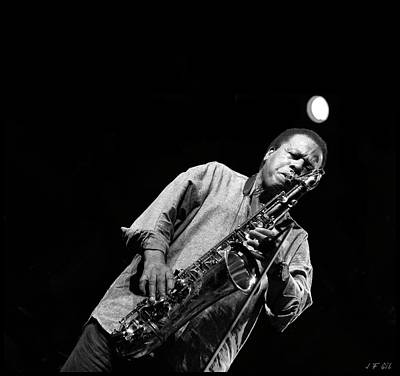 Photograph - Wayne Shorter   by Jean Francois Gil