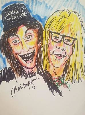 Waynes World Art Print