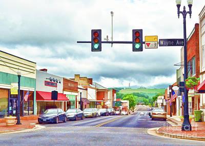 Photograph - Waynesboro Virginia - Art Of The Small Town by Kerri Farley