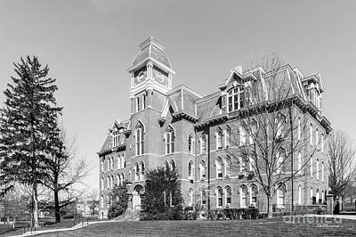 Photograph - Waynesburg University Miller Hall by University Icons