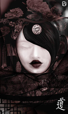 Digital Art - Ways Of Tao by Fabrizio Uffreduzzi