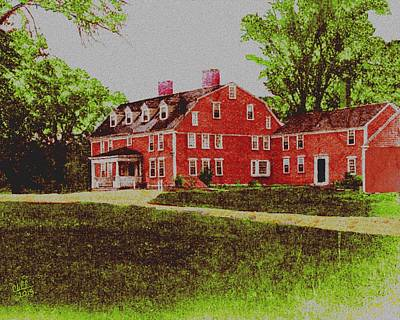 Wayside Inn 1875 Original by Cliff Wilson
