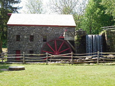 Photograph - Wayside Mill by Catherine Gagne