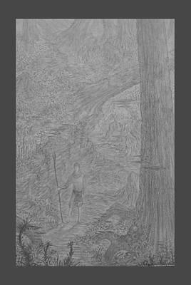 Wayward Wizard Art Print by Corbin Cox