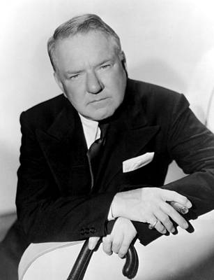 W.c. Fields, Paramount Pictures, 1935 Art Print by Everett