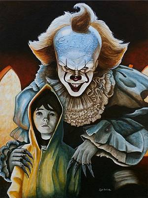 Painting - We All Float Down Here by Al  Molina