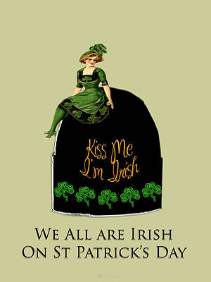 Digital Art - We All Irish This Beautiful Day by Asok Mukhopadhyay