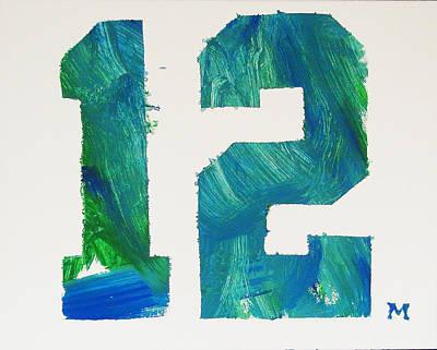 We Are 12 Art Print