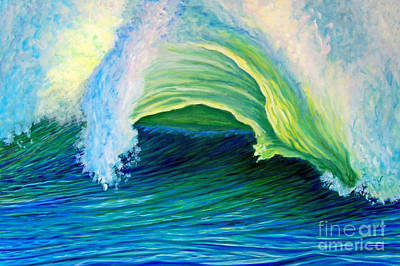 Oceanscape Painting - We Are One by Brian  Commerford