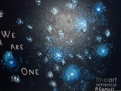 Oneness Painting - We Are One by Piercarla Garusi