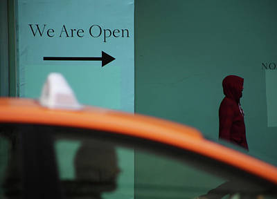 Photograph - We Are Open by Jerry Cordeiro