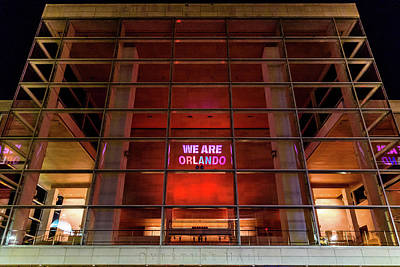 Photograph - We Are Orlando by Randy Scherkenbach