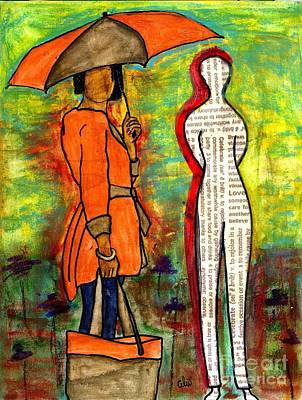 We Can Endure All Kinds Of Weather Art Print by Angela L Walker