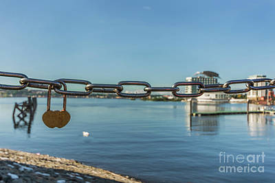 Photograph - We Love Cardiff Bay by Steve Purnell