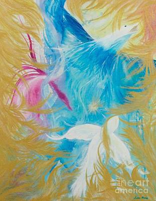 Painting - We Must Fly by Susan Harris