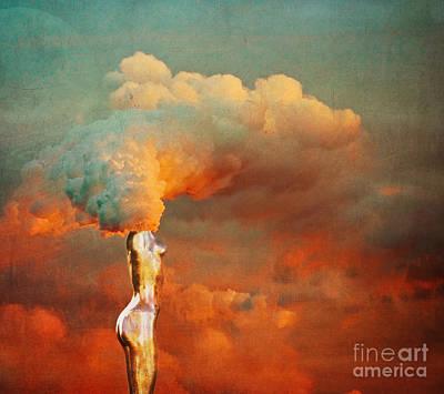 Surrealism Mixed Media - We by Jacky Gerritsen