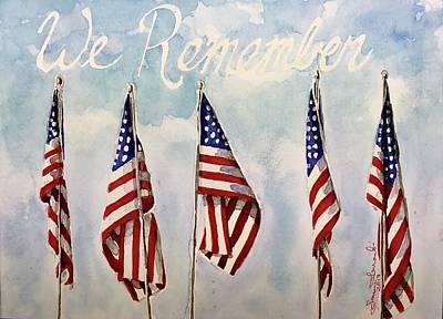 We Remember Original by Janine Ferranti