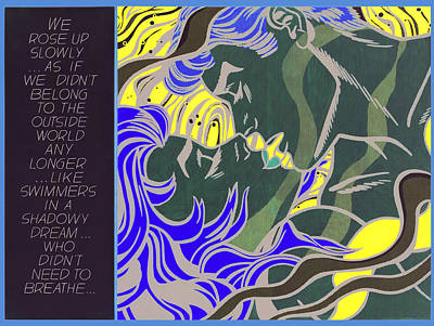 Painting - We Rose Up Slowly by Doc Braham - In Tribute to Roy Lichtenstein