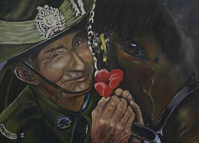 Www1 Painting - We Shall Remember Them  by Cynthia Farr