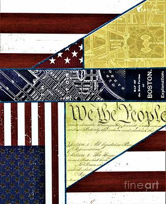 Painting - We The People by Allison Constantino