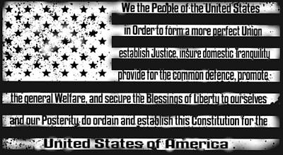 We The People Art Print by Patriot 1