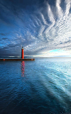 Lake Michigan Photograph - We Wait by Phil Koch