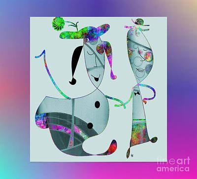 Digital Art - We Were Made For Each Other by Iris Gelbart