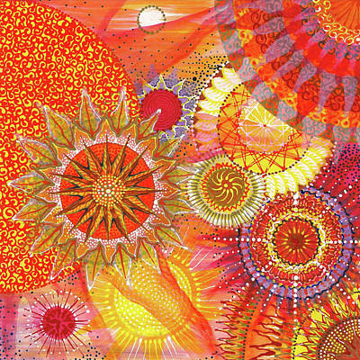 Painting - We Will Have Many Suns #2 by Kym Nicolas
