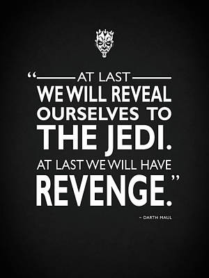 We Will Have Revenge Print by Mark Rogan