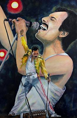 Painting - We Will Rock You by Don Whitson