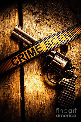 Crime Photograph - Weapon Forensics by Jorgo Photography - Wall Art Gallery