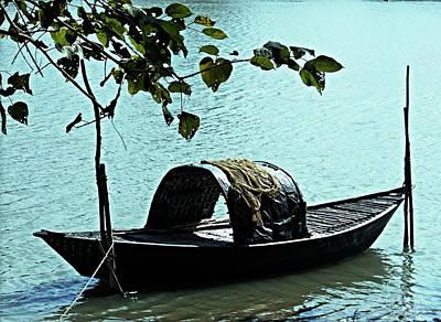 Photograph - Weary Boat by Amar Singha