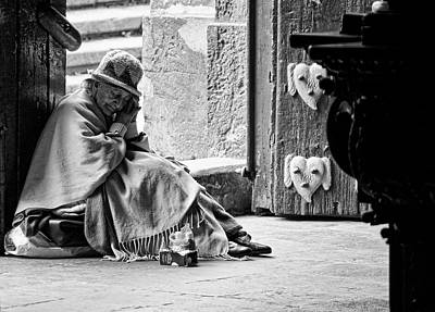 Photograph - Weary In Quito by Cameron Wood