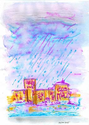 Forecast Drawing - Weather. 26 October 2015  by Tatiana Chernyavskaya