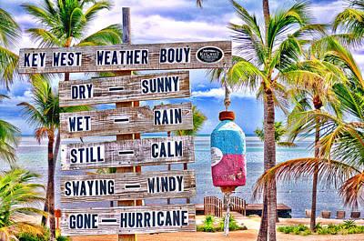 Weather Bouy Art Print by Steve Cole